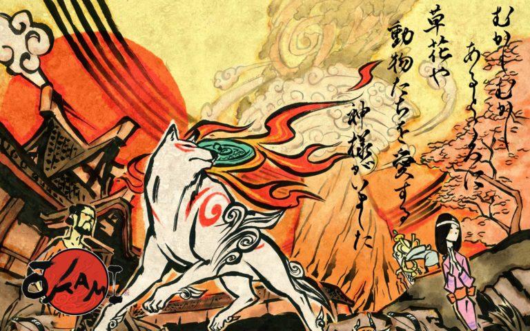 Okami HD — Боевое искусство каллиграфии