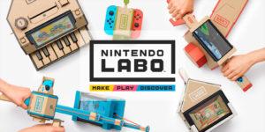FHWL News: Nintendo представила Labo — конструктор из картона для Switch